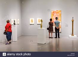 washington dc district of columbia national mall hirshhorn museum contemporary art exhibition paintings willem de kooning sculpture alberto giacometti man