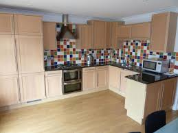 beautiful multi coloured kitchen tiles pattern home design ideas