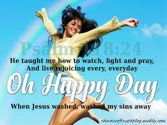 Image result for picture rejoicing being free from sin