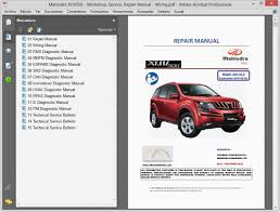 mahindra xuv500 workshop service repair manual wiring workshop service repair manual wiring