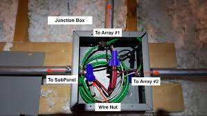 sunmax from end run to main panel (branch circuit wiring for electrical junction box dimensions at Electrical Wiring Box