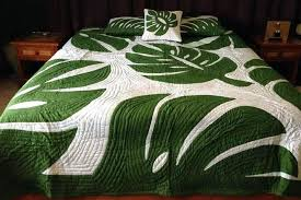 Hawaiian Bedding Quilts Tropical Bedroom Quilts Tropical Quilt ... & ... Monstera Beadspead Divine Planet Hawaiian Bedding Quilts Tropical Quilt  Bedding Sets Tropical Bedding Quilts ... Adamdwight.com