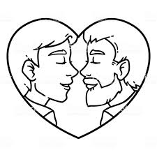 Gay Couple Love Stock Illustration Download Image Now Istock