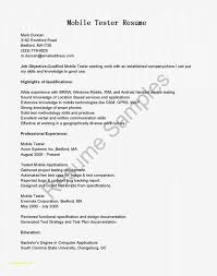 Sample Resume For Software Tester Fresher And Qtp Test Engineer