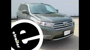 Trailer Hitch Installation - 2013 Toyota Highlander - Curt ...