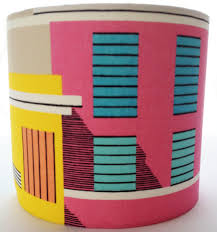 A Pink Blue Yellow Handmade Custom Made Lampshade Inspired Ikea Sommar 2018 Fabricstyle Cylinderdrum Lampshadesshadetable Lamp