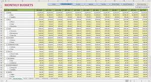 Income Statement Format Excel Monthly Income Statement Excel Template And Sample Financial Report