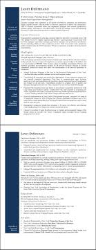 Operations Manager Resume Examples TV Network Operations Manager Sample Resume ExecResumes 95
