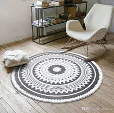 cheap round rugs. Computer Chair Area Rug Nordic Gray Series Round Carpets For Living Room Children Play Tent Floor Mat Cloakroom Rugs And Cheap