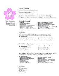 Junior Graphic Designer Resume - Shalomhouse.us
