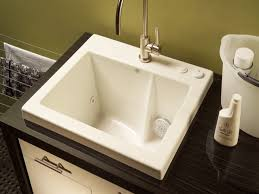 back to how to decoration drop in laundry sink