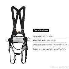 Climbing Safty Belt Ingenuity Professional Mountaineering Rock Climbing Belt Rappelling Safety Strap Work Safety Belt Camping Gear Climbing Harness