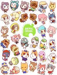 cute anime chibi characters animals. Animal Crossing Fan Art To Cute Anime Chibi Characters Animals