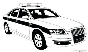 Coloring Pages Of Police Cars W9378 Coloring Pages Police Car Page