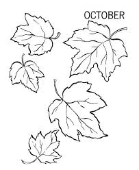 Small Picture October Autumn Leaves Coloring Pages Bulk Color