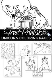 Free Cute Unicorn Coloring Pages Printable A Magical Mess