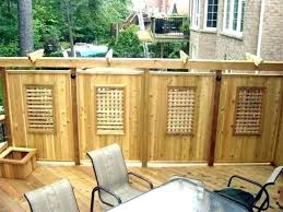 deck privacy wall screen ideas and pictures photo 1 outdoor kids room decor