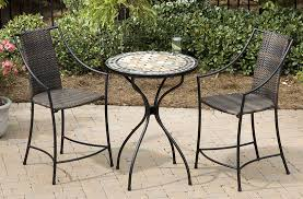 best choice of outdoor bistro chairs at beautiful and table