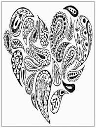 Small Picture Big Heart Adult Coloring Pages Colouring pages Pinterest