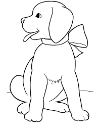 Small Picture Printable dog coloring pages for kids ColoringStar