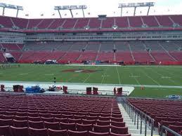 Raymond James Seating Chart Luke Bryan Raymond James Stadium Section 136 Home Of Tampa Bay