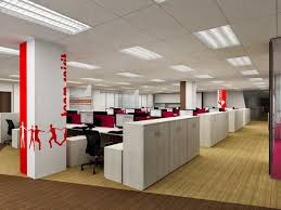 office interior. Captivating Work Environment For A Modern Office Setup Interior T