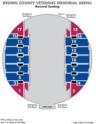 Ppac Seating Chart 53 Organized Seating Chart For Veterans Memorial Arena
