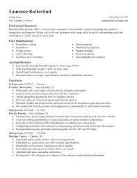 customer service summary for resumes qualifications summary resume example sample professional summary