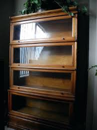 bookcases antique glass front bookcase 2 oak lawyer each the pair yard she will