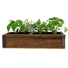 Amazon.com: Reclaimed Barnwood Planter Box - Weathered Rustic Flower, Herb  & House