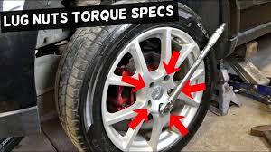 Lug Nut Torque Chart 2011 Wheel Lug Nuts Torque Specs Dodge Journey Fiat Freemont