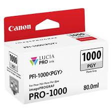 <b>Canon PFI-1000 PGY Photo</b> Grey Ink Tank, - Buy Online in ...