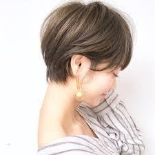 モテ度高め芸能人風ショートヘアでナチュラル美人に変身hair
