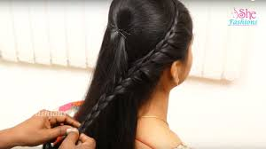 Easy Hair Style For Girl 10 easy hair style for girls ladies hair style tutorial youtube 4524 by wearticles.com