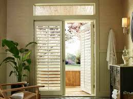 Image of: french door window treatments ideas