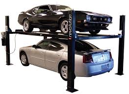 Sturdy Car Lifting Machine and Installation
