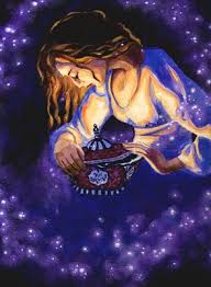 pamela goodman illustration blog pandora s box in greek mythology the girl pandora keeps a box in which all the evil of the world is contained curiosity gets the better of her and she opens the lid