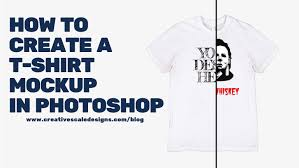 Creat A Shirt How To Create A Tshirt Mockup In Photoshop Creativescale