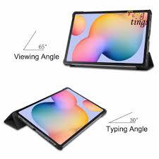 Ốp Lưng Chống Sốc Có Giá Đỡ Tiện Lợi Cho Máy Tính Bảng Samsung Galaxy Tab  S6 Lite 10.4 chính hãng 105,000đ