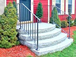 prefab outdoor staircase wooden deck stairs home depot