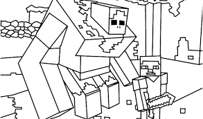 minecraft creeper coloring pages printable animal fresh