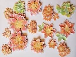 Paper Piecing Flower Flowers Beautuful Handmade Stamp And Die Cut Paper Piecing Scrapbook