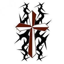 Vektorová Grafika Tetování Tribal Cross Vzory Izolovaný Vektorové