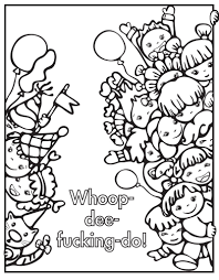 Coloring Pages Swear Word Coloringok Printable For Parents Pdf App