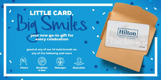 hilton gift cards