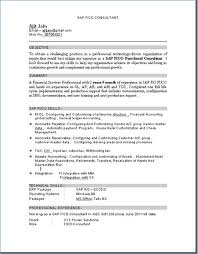 Sap Hr Resume Sample Interesting Sample Hr Resumes For Hr Executive Resume Sample Human For Resume Of