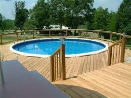 18 foot above ground pool decks around above ground pools great here are some pictures deck