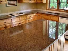 graceful tan brown granite countertops