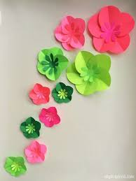 Easy Paper Flower Easy Diy Paper Flowers Tutorial Easter Spring Diy Ideas Paper