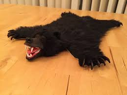 picture of enjoy your miniature bear skin rug